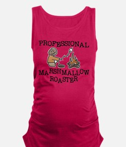 Professional Marshmallow Roaster Maternity Tank To