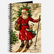 Vintage Russian Christmas Card Journal