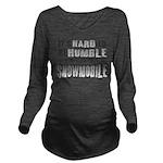 Hard to be Humble Long Sleeve Maternity T-Shirt