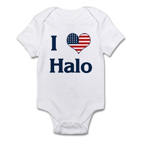 I Love Halo Infant Bodysuit