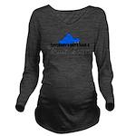 atrailerqueen.png Long Sleeve Maternity T-Shirt