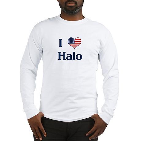 I Love Halo Long Sleeve T-Shirt
