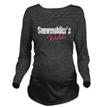 snowwidow332bm.png Long Sleeve Maternity T-Shirt