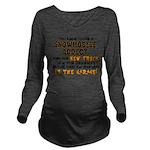 NEW TRUCK.png Long Sleeve Maternity T-Shirt