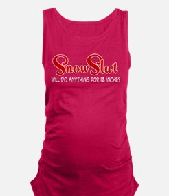Snow Slut Maternity Tank Top