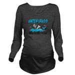 WATERCROSSS.png Long Sleeve Maternity T-Shirt