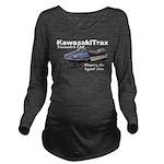 KawasakiTrax Long Sleeve Maternity T-Shirt