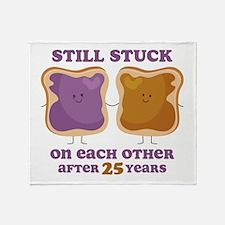 PBJ 25th Anniversary Throw Blanket