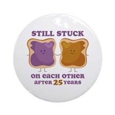 PBJ 25th Anniversary Ornament (Round)