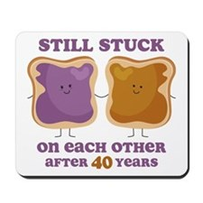 PBJ 40th Anniversary Mousepad
