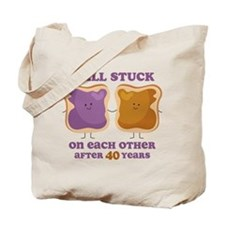 PBJ 40th Anniversary Tote Bag