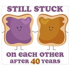 PBJ 40th Anniversary Wall Art Poster
