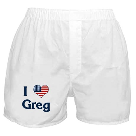 I Love Greg Boxer Shorts