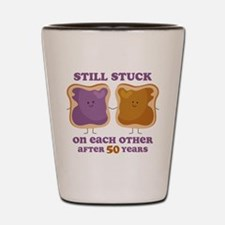PBJ 50th Anniversary Shot Glass