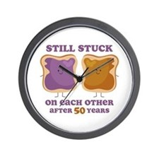 PBJ 50th Anniversary Wall Clock