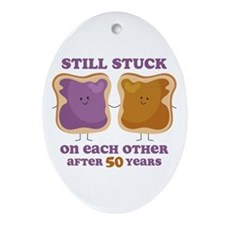 PBJ 50th Anniversary Ornament (Oval)