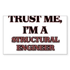Trust Me, I'm a Structural Engineer Decal