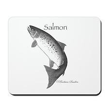 Salmon Mousepad
