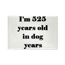 75 dog years 3-3 Magnets