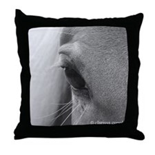 Window to a Kind and Gentle Soul Throw Pillow