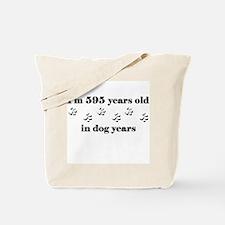 85 dog years 3-1 Tote Bag