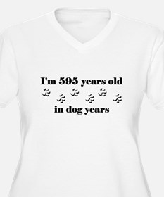 85 dog years 3-1 Plus Size T-Shirt