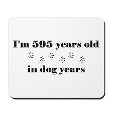 85 dog years 3-2 Mousepad