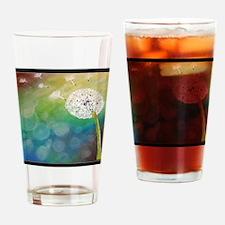 Dandelion dreams Drinking Glass