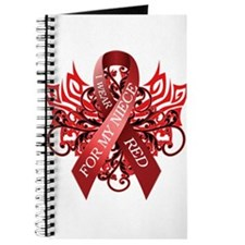 I Wear Red for my Niece Journal