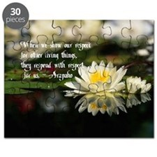 American Indian proverb Puzzle
