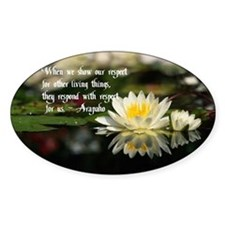 American Indian proverb Decal