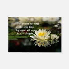 American Indian proverb Rectangle Magnet