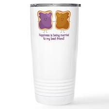 PBJ Married Best Friend Travel Mug
