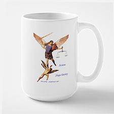 Archangel Michael -Right Handed - Large Mug