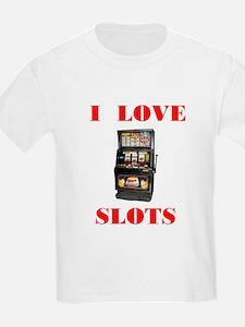 I LOVE SLOTS Kids T-Shirt