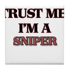 Trust Me, I'm a Sniper Tile Coaster