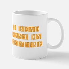 I-read-bedtime-FLE-ORANGE Mugs