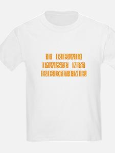 I-read-bedtime-FLE-ORANGE T-Shirt