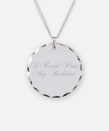 I-read-bedtime-cho-light-gray Necklace