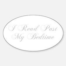 I-read-bedtime-cho-light-gray Decal