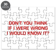 DONT-YOU-THINK-EURO-RED Puzzle