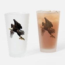 Bald Eagle Drinking Glass