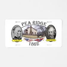 Pea Ridge Aluminum License Plate