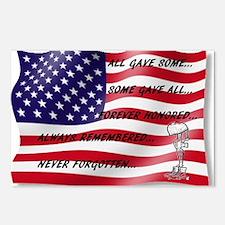 Never Forgotten Hero Flag Postcards (Package of 8)