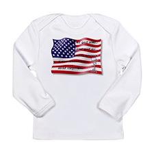 Never Forgotten Hero Flag Long Sleeve T-Shirt