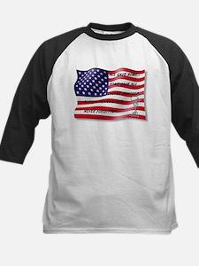 Never Forgotten Hero Flag Baseball Jersey