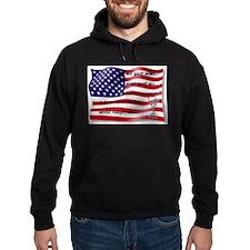 Never Forgotten Hero Flag Hoodie