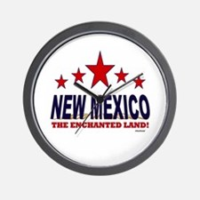 New Mexico The Enchanted Land Wall Clock