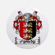 O'Grady Coat of Arms Ornament (Round)
