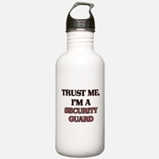 Trust Me, I'm a Security Guard Water Bottle